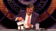 Thumbnail of Stephen Fry's milk trick in QI