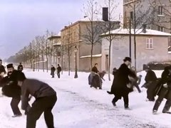 Thumbnail of Snowball fight 124 years ago.
