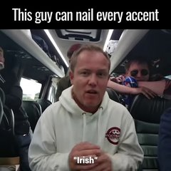 Thumbnail of Guy nails every accent