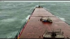 Thumbnail of MV Arvin Moment of breaking of the ship
