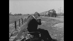 Thumbnail of Silent movies did some pretty crazy things with trains