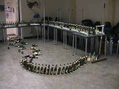 Thumbnail of Beer bottle domino