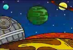 Thumbnail of The Simpsons: Star Wars intro!