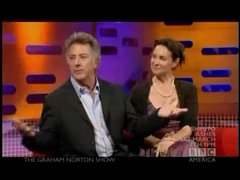 Thumbnail of Dustin Hoffman tells a joke well