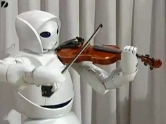 Thumbnail of Violin Robot