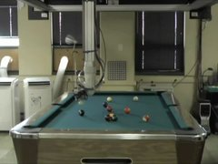 Thumbnail of Deep Green, the pool-playing robot