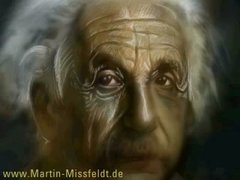 Thumbnail of Einstein speed painting