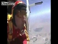 Thumbnail of Skydiving from one plane to the next...