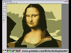 Thumbnail of Mona Lisa Paint