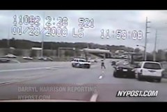 Thumbnail of Police chase ends in beat-down