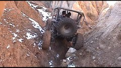 Thumbnail of This is one wild 4X4 rock crawler