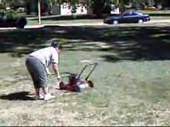 Thumbnail of Psychotic neighbor vs. lawn mower