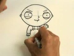 Thumbnail of How to draw Stewie from Family Guy