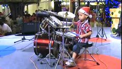 Thumbnail of Incredible 4-year-old drummer.