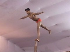 Thumbnail of Indian pole gymnastics.