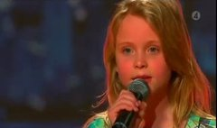 Thumbnail of 10 year old girl amazing voice