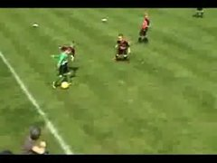 Thumbnail of 6 Year old football wonder kid
