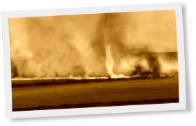 Thumbnail of Fire tornado hits Brazil