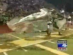 Thumbnail of Cheerleader run over by football team