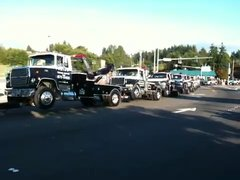 Thumbnail of Tow truck towing a tow truck towing a ......