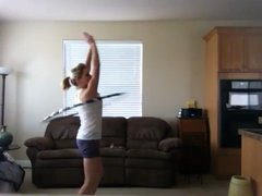 Thumbnail of Spinning the hulahoop