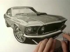 Thumbnail of Amazing Mustang drawing