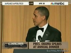 Thumbnail of President Obama's payback speech at the White House correspondents' dinner
