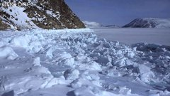 Thumbnail of Going under the ice field for food