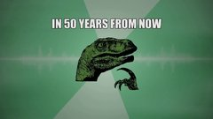 Thumbnail of Philosoraptor Song