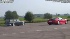 Thumbnail of Volvo Amazon vs Ferrari 599 GTB F1
