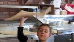 Thumbnail of 7 Year Old Pizza Tosser