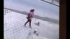 Thumbnail of Girl Swallowed Up by the Sidewalk