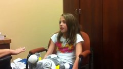 Thumbnail of Ten-Year-Old Deaf Girl Hears For The First Time