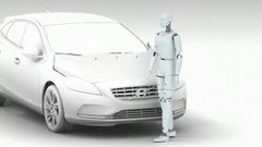 Thumbnail of Volvo's new Pedestrian Airbag